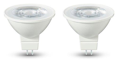 AmazonBasics Lot de 2 ampoules LED GU5.3 4,5 W (35 W)