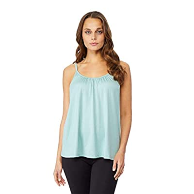 32 DEGREES Womens Cool Relaxed Bra Cami, Pistachio Heather, XLarge