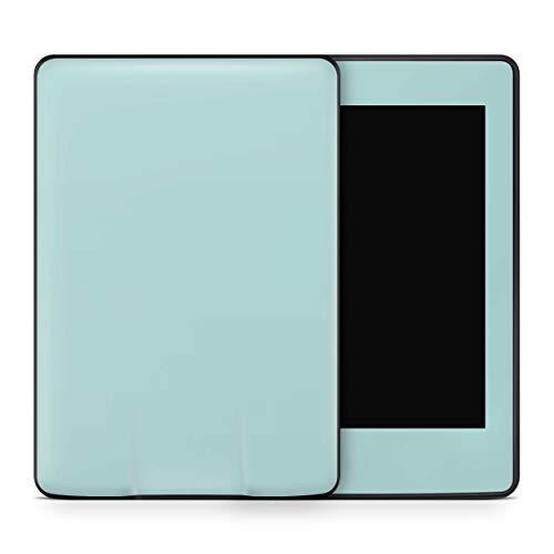 Skins4u Amazon Kindle Paperwhite 2018 Skin Aufkleber Design Schutzfolie Solid State Mint