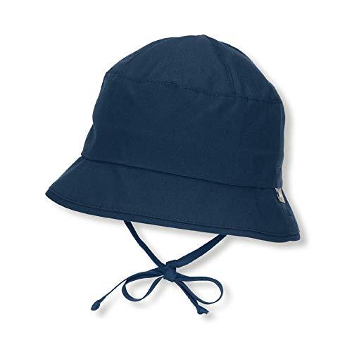 Sterntaler Fischerhut mit Bindebändern, Alter: 9-12 Monate, Größe: 47, Blau (Marine)