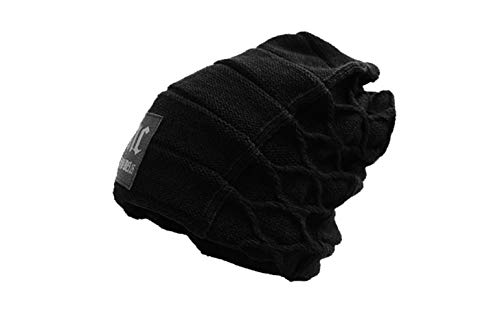 Alexvyan Men's and Women's Imported Winter Woollen Knitted Fur Inside Hat