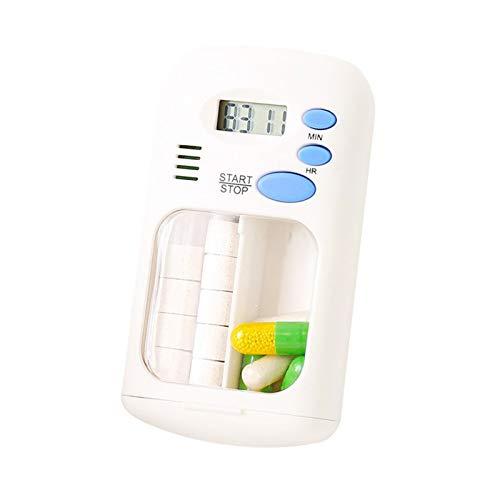 BrilliantDay Alarma digital Caja de pastillas...