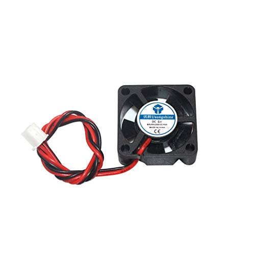 BIlinli 1PC DC 2Pin Mini 3010 Cooling Fan 5V/12V/24V 30MM 30x30x10mm Small Exhaust Fan for 3D Printer 3010 2 pin for 3d printer