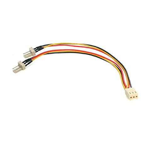 StarTech.com 15 cm Molex 3 stift Y-kabel för fläkt, 3 poler. Molex adapterkabel, TX3 splitter-kabel