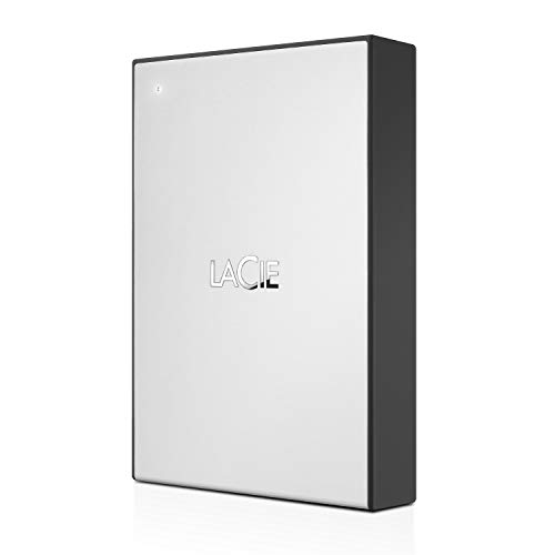 LaCie 4TB USB 3.0 Portable External Hard Drive with 1 Month Adobe...