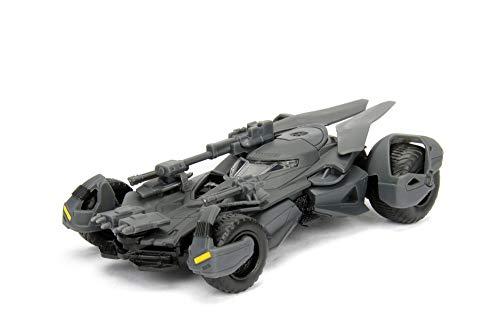 Jada- Batmóvil Coche Metal La Liga de la Justicia 1:32 coleccionismo, Color gris (253212005)