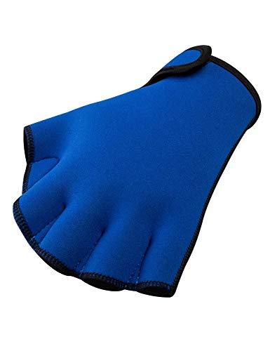 FitsT4 Unisex Schwimmhandschuhe Neopren Swimpaddlesfür den Oberkörperwiderstand, Aquatic Handschuhe Swim Gloves für Männer, Frauen, Kinder