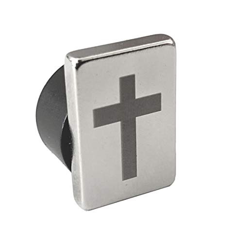 Tie Mags, The Cross, Magnetic Tie Clip Pin, Magnetic Lapel Pin