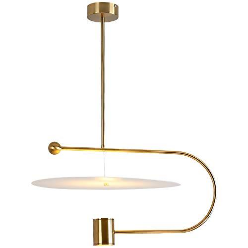 LED vliegende schoteltje hanglampen Modern Mode eettafel hanglamp Industrial metalen frame plastic gordijnen restaurant studie eetkamer kroonluchter 15W equivalent aan 120W