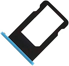 BisLinks New Replacement Repair Part Blue Sim Tray Card Slot Holder Tray for iPhone 5C