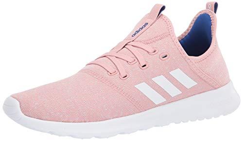 adidas Women's Cloudfoam Pure Running Shoe, Pink Spirit/Chalk White/Team Royal Blue, 5