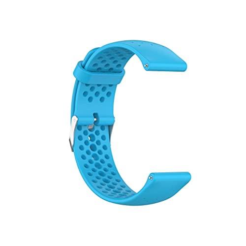 VIVILIAN Compatible con Xiaomi/Huawei/Samsung/Garmin, correas intercambiables de reloj de 22 mm, suaves y transpirables, correas de reloj de deporte, para hombre y mujer