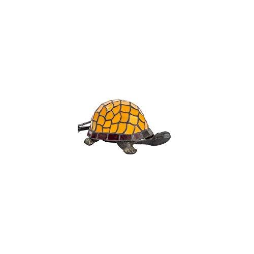 Lampe en forme de tortue de style Tiffany