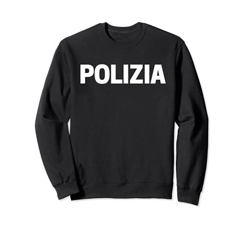 Disfraz de polica italiana de uniformes Sudadera
