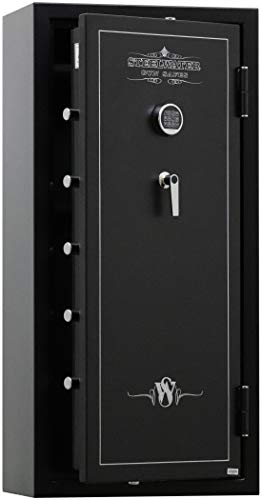 SWSD20GUN-EMP 60 Minute Fireproof 20 Long Gun Safe with EMP Lock