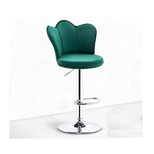 N/Z Living Equipment Gaming Stuhl Computer Stühle Hocker Reck Hocker Sofa Stuhl Bürostuhl Lange Rückenlehne Mit zu montierenden Pedalen Flanell Schwamm Spiegel Farbe Chassis Leichte Möbel (Farbe: A)