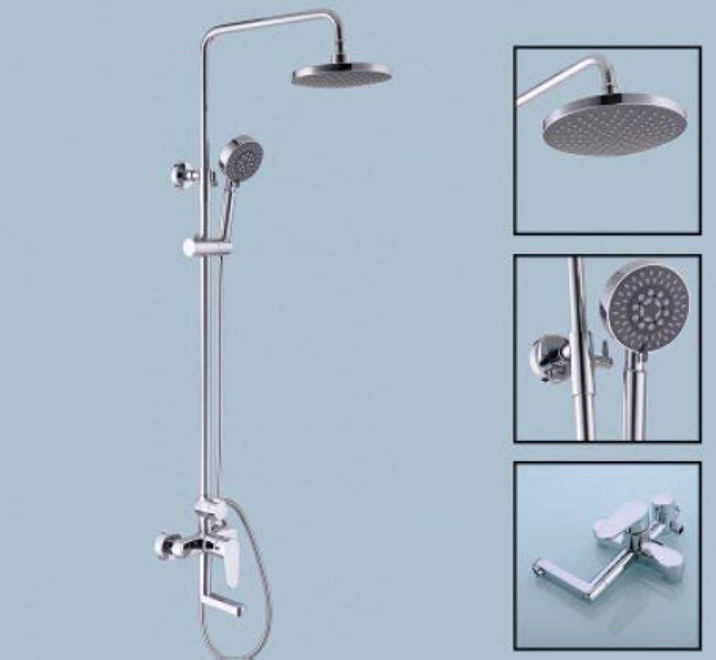 Oudan Household bathroom full copper shower set