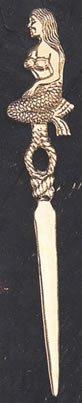 Desconocido Latón Sirena náutico abrecartas