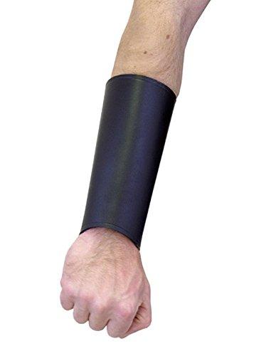 Cuero de tulipanes en negro en forma de arco tiro con arco de la correa de cuero