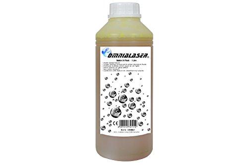 OmniaLaser OL-UVBUBBLE1 Liquido per Macchina reagente agli UV Wood Black Light Neon Fluo Glow Party Soluzione per generatori di Bolle di Sapone