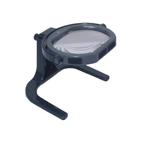 Lupa Lupa de mesa, escritorio. Lupa sobremesa 115x95mm, 2X con lente adicional 4X. - 1353