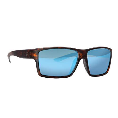 Magpul Explorer Sunglasses Tactical Ballistic Sports Eyewear Shooting Glasses for Men, Tortoise Frame, Bronze Lens with Blue Mirror (Polarized)
