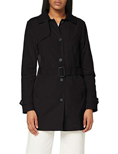 Street One Damen 201450 Trenchcoat, Black, 44