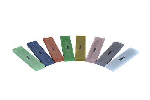 "Naniwa KME Sharpener Full Chosera Stone Set - 1""x4""x0.25"""