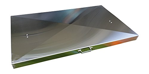 Backyard Life Gear Griddle Cover for Camp Chef Flat Top Griddle FTG600 (Stainless Steel)