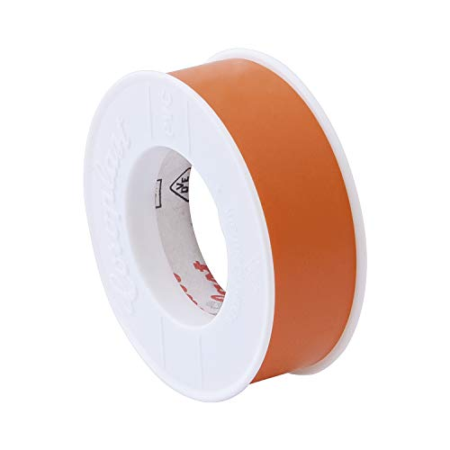 COROPLAST C1384 Isolierband 0,10 x 15 mm x 10 m, Orange