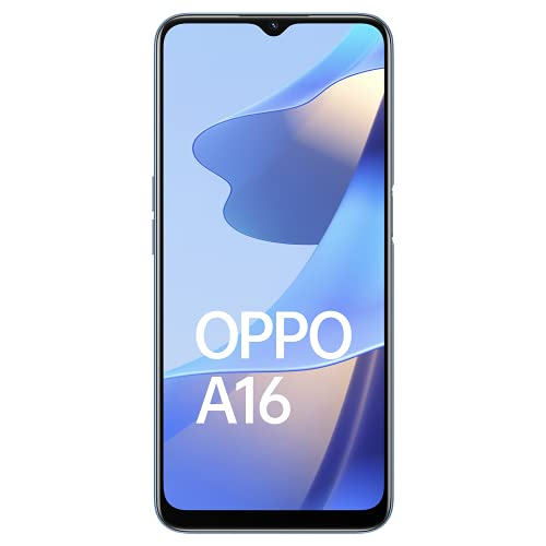 OPPO A16 (Pearl Blue, 4GB RAM, 64GB Storage) with No Cost EMI/Additional Exchange Offers