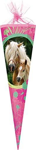 Familando Wild Horse Schultüte Pferd 85cm 6-eckig Durchmesser ca 25cm 2015