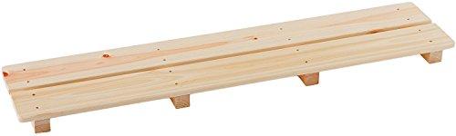 池川木材 【国産】 桧 厚板すのこ 2枚打 (85×18cm)