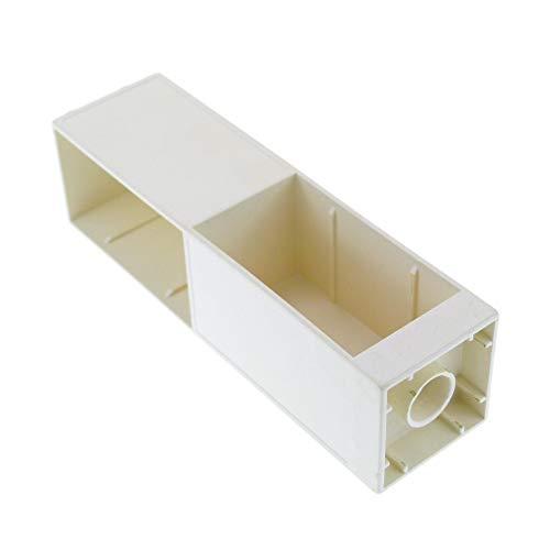 1 x Lego Duplo Möbel Regal creme weiss 2x2x6 Schrank Säule Wohnzimmer weiss Büro Küche Puppenhaus 6462