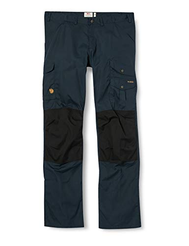 Fjällräven Herren, Barents Pro Trousers M Hose, Dark Navy-Schwarz, 50