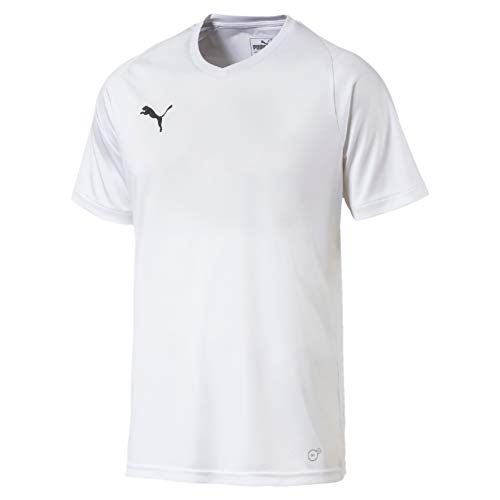 PUMA Herren Liga Jersey Core Jersey, Weiß (PUMA White-PUMA Black), 52/54 (Herstellergröße: L)