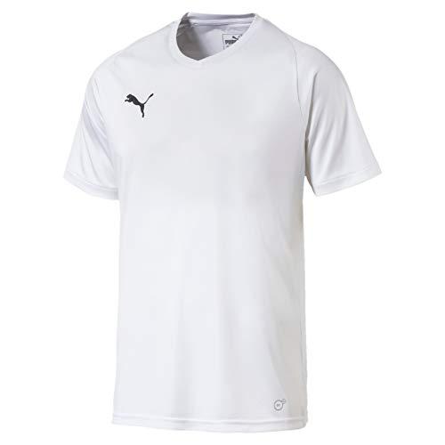 PUMA Herren Liga Jersey Core White Black, S