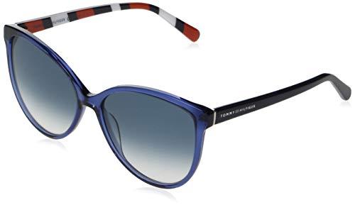 Tommy Hilfiger TH 1670/S gafas de sol, AZUL, 57 para Mujer