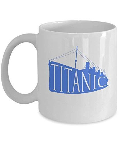 Coffee Mug Sailing - Titanic - Marine Themed Gifts -11 Oz Ceramic...