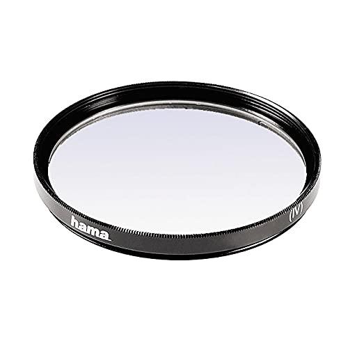 Hama UV-Filter 49mm (Schutz-Filter mit 2-fach Vergütung, inkl. Filterbox)