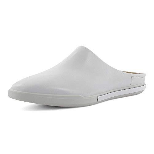 ECCO Damen Simpil II Slide Pantolette, weiß, 38 (US Women 7-7,5) M