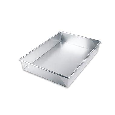 USA Pan Bare Aluminum Bakeware 1110RC-BB 9 x 13 Rectangular Baking Pan Warp-Resistant, Rust-Proof Bakeware