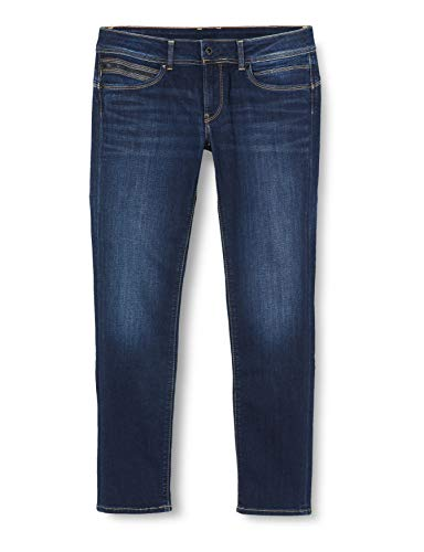 Pepe Jeans Damen New Brooke Jeans, 10Oz Stretch Ultra Dk, 30W / 32L