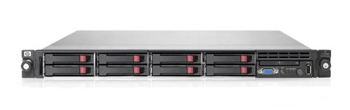 HP DL360 R06 Xeon E5504 Quad Core 2.00GHz 2x2GB RDIMM RAM Smart Array P410i/ZM Controller HPS 460W Entry Model