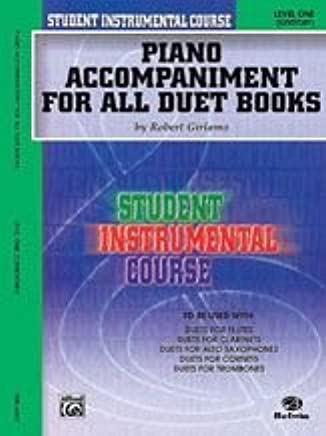 Alfred Publishing 00-bic00188 a Student Instrumental course: Duets Level i – Music Book