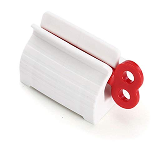 RAQ multifunctionele bad kunststof crème tube kneldispenser rolling tube Squeezer tandpasta dispenser Australië Wit Rood