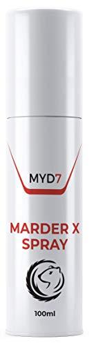 PHARMA HEALTH Marder X Spray | Marderschreck | Marderabwehr | für Auto, Dachboden, Garten, Haus 100ml