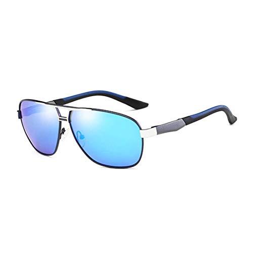 Yi-xir diseño Clasico Hombres Moda UV400 Aluminio-Magnesio Marco de aleación Gafas de Sol polarizadas Moda (SKU : Og5535b)