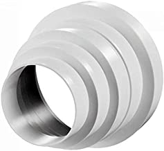 Elbow Connector Grille PVC Ventilation Fittings for Extractor Fans Duct