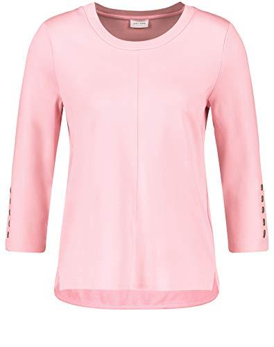 Gerry Weber Damen Sweatshirt mit 3/4 Arm leger Rose 42